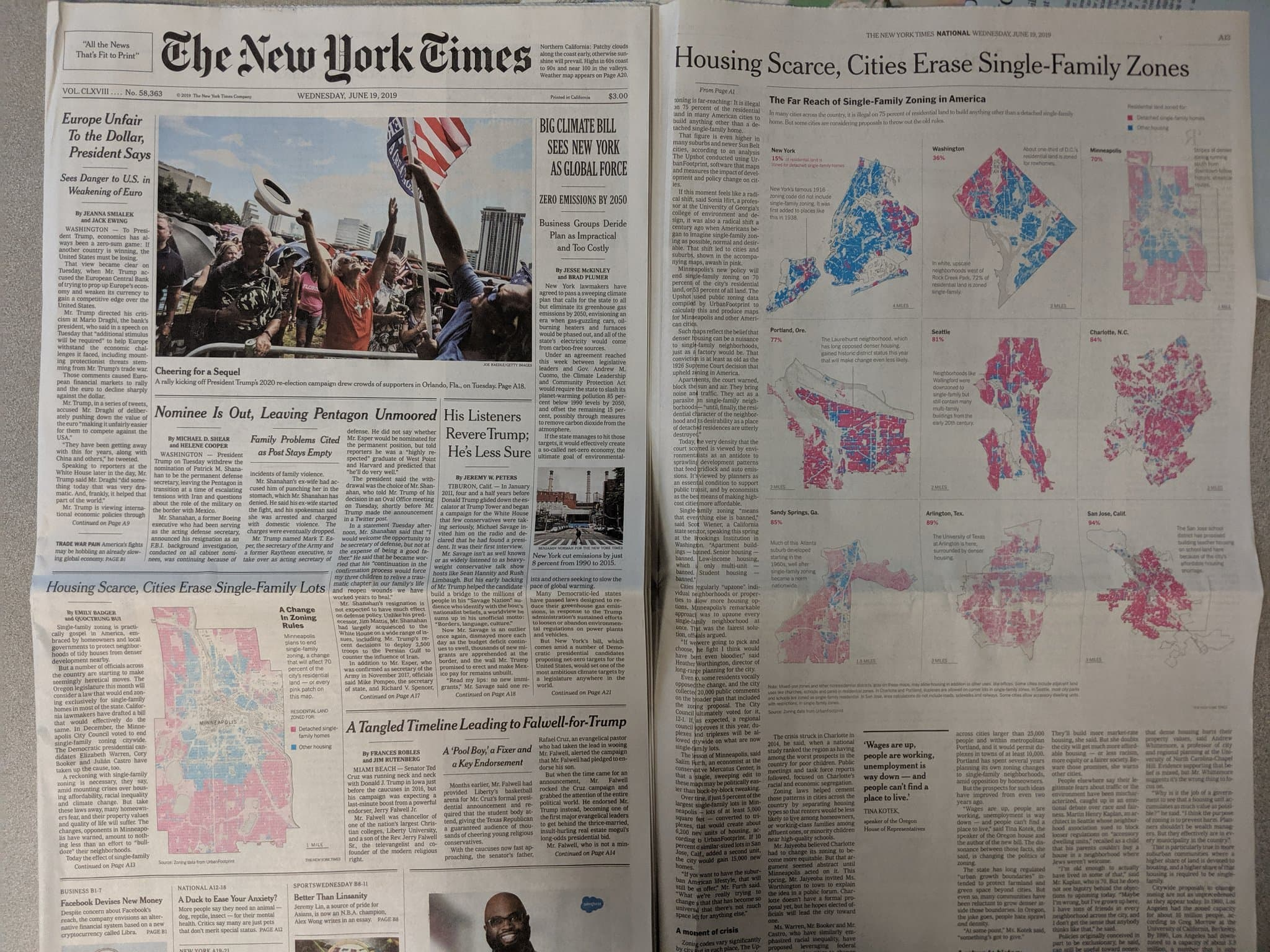 An Urban Footprint in the New York Times